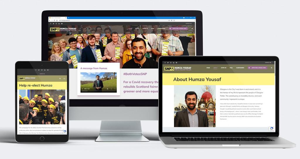 Humza Yousaf Website